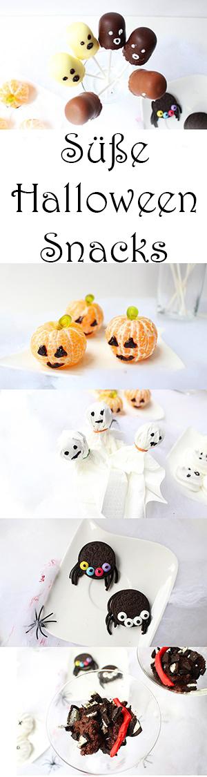 Einfache süße Halloween Snacks + Video — Mama Kreativ