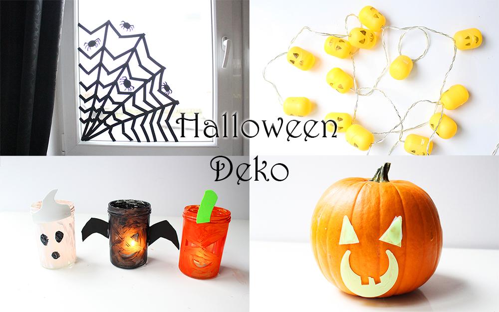 Last Minute Halloween-Deko