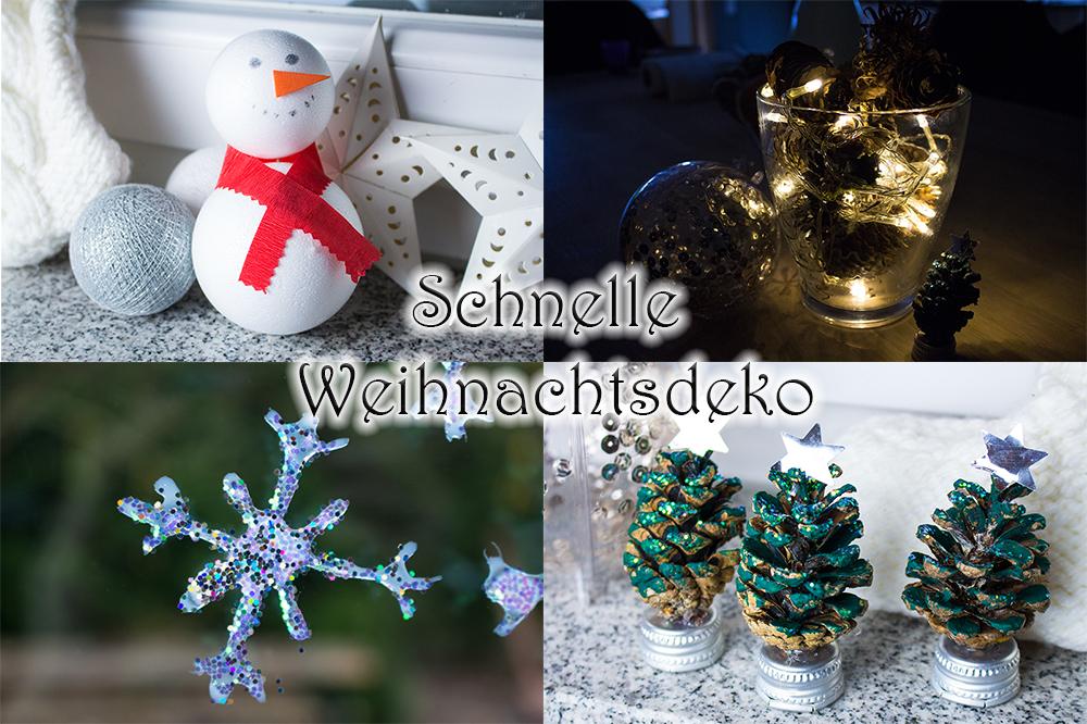 DIY: Ganz schnelle Weihnachtsdeko!