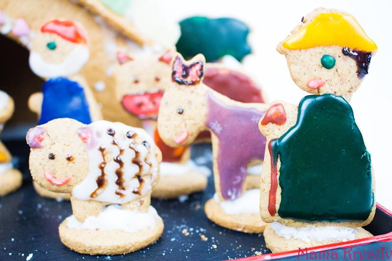 backen-mit-kindern-weihnachten-lebkuchenhaus-krippe-40