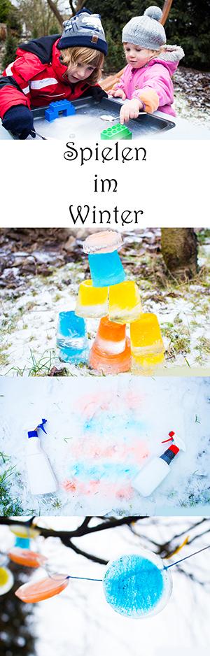 Spielen im Winter mit Kindern: Spiele mit Eis und Schnee draußen