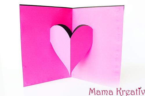 Basteln Mit Kindern Zum Valentinstag Mama Kreativ