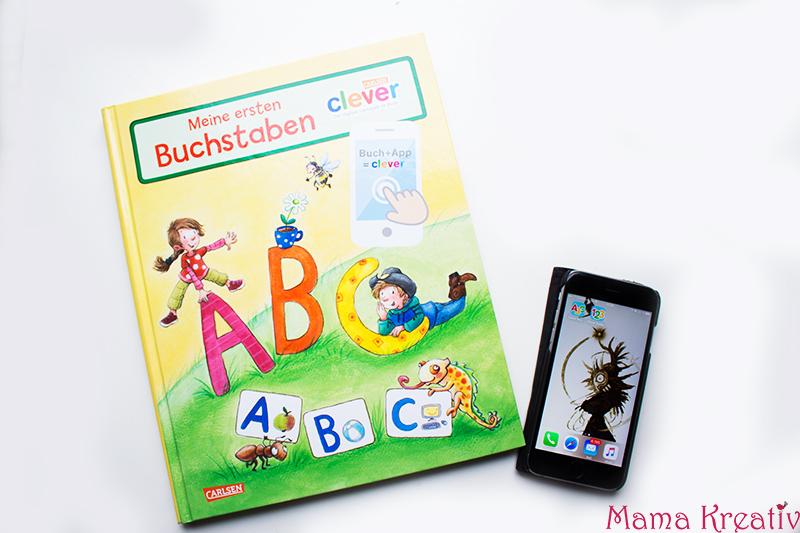 Buchstaben und Zahlen mit Kindern lernen buch bücher app carlsen clever (36)