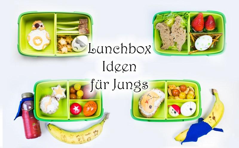 Lunchbox Ideen für Jungs. Brotdose für Kinder