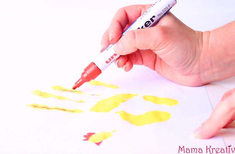 Malen im Frühling mit Kindern (2)