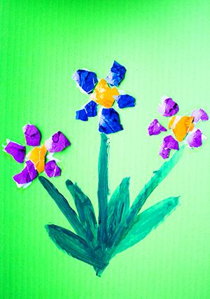Malen im Frühling mit Kindern (8)