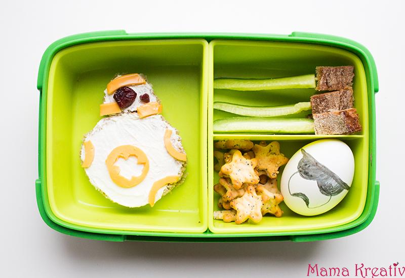 Star Wars Lunchbox Ideen für Kinder. Schulbrote für Jungs