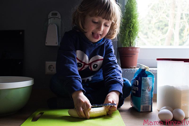 Bananenmuffins ohne Zucker backen rezept