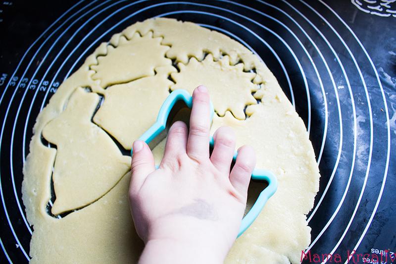 Süße Osterhasen Kekse Plätzchen backen rezept schnell einfach (2)