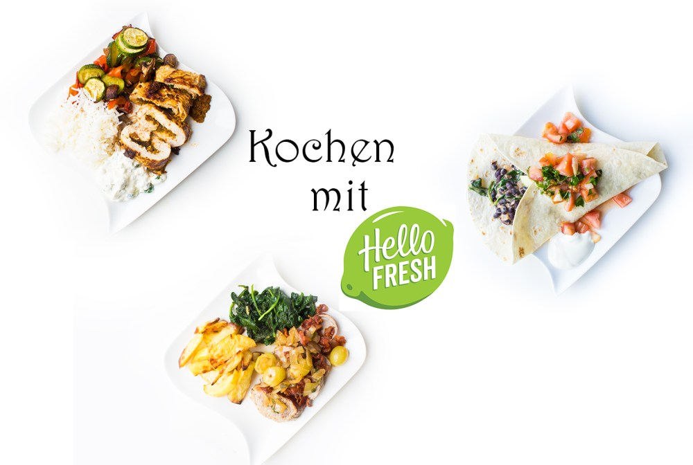 Kochen mit HelloFresh Kochboxen