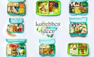 Lunchbox Ideen für Kinder Kindergarten