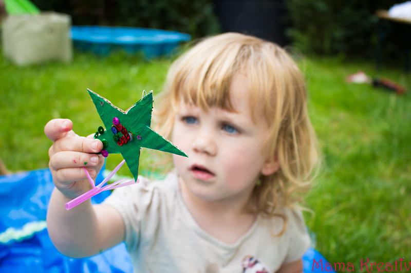 Spielen mit Kindern Ozean im Garten basteln (19)