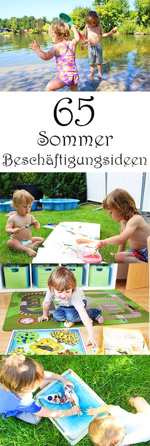 65 Sommer-Beschäftigungsideen für Kinder - Beschäftigung von Kindern in den Ferien