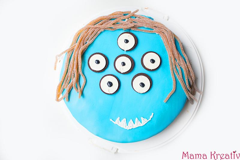 Monster Geburtstag: Spiele, Deko und Rezepte für Kinder Monster Kuchen rezept