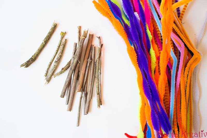 Basteln Mit Kindern Im Herbst 8 Ideen Mit Naturmaterialien Mama