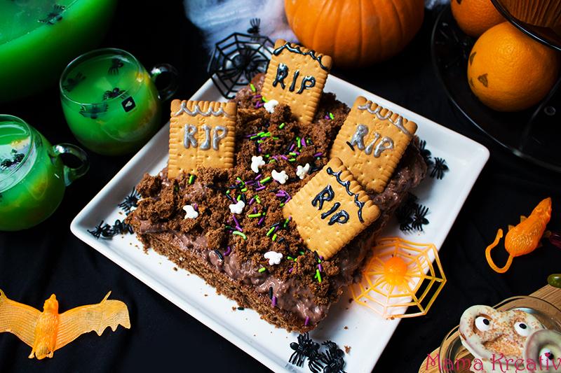 Halloween Party Rezepte schneller Kuchen