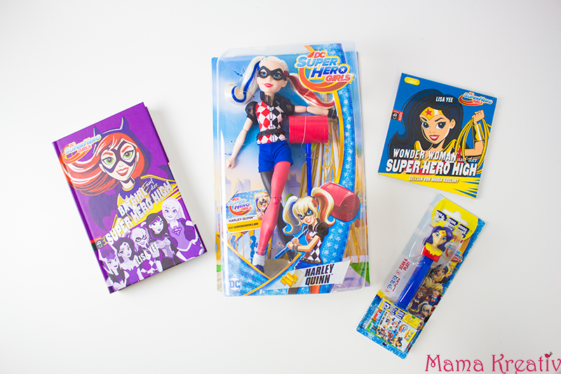 DC Super Hero Girls Geschenkideen mit Warner Bros.