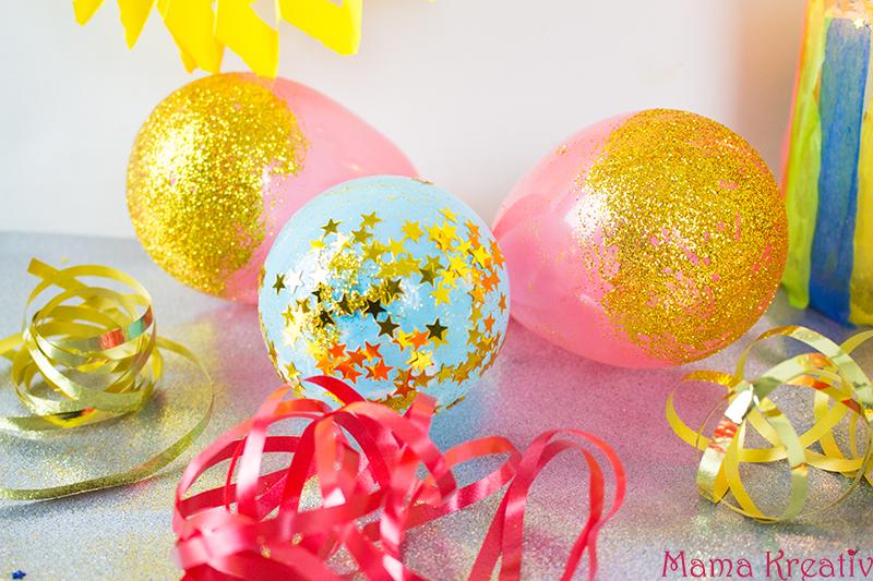 Diy fasching deko mit kindern basteln 4 schnelle ideen mama kreativ - Bastelideen zu karneval ...