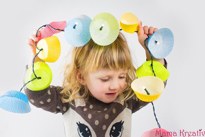 DIY Fasching Deko mit Kindern basteln: 4 schnelle Ideen