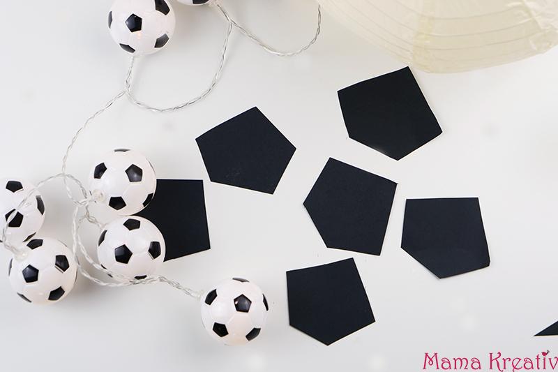 Basteln Mit Kindern Fur Die Fussball Party