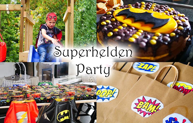 Superhelden-Geburtstag Ideen: Deko, Spiele und Rezepte