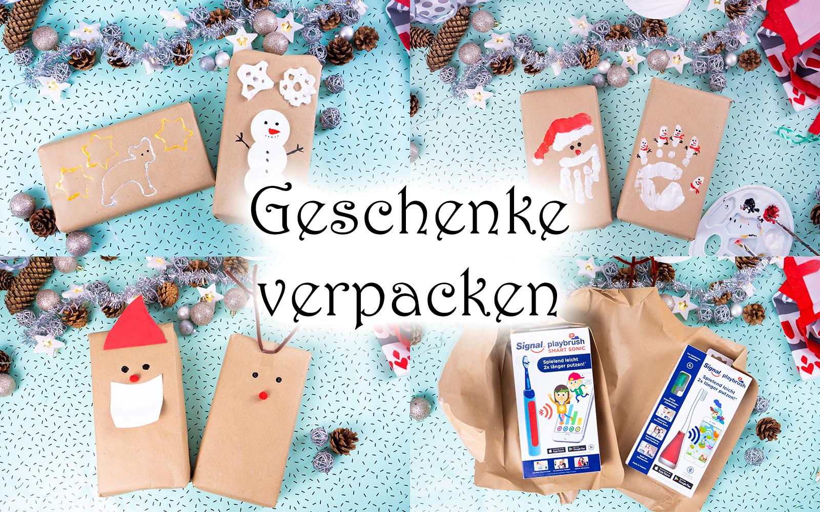 Weihnachtsgeschenke verpacken: 6 tolle Ideen — Mama Kreativ