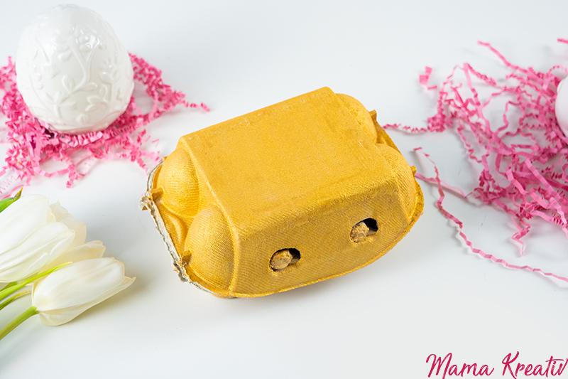 Osternest basteln - 4 einfache Upcycling Ideen zum basteln mit Kindern und Kleinkindern