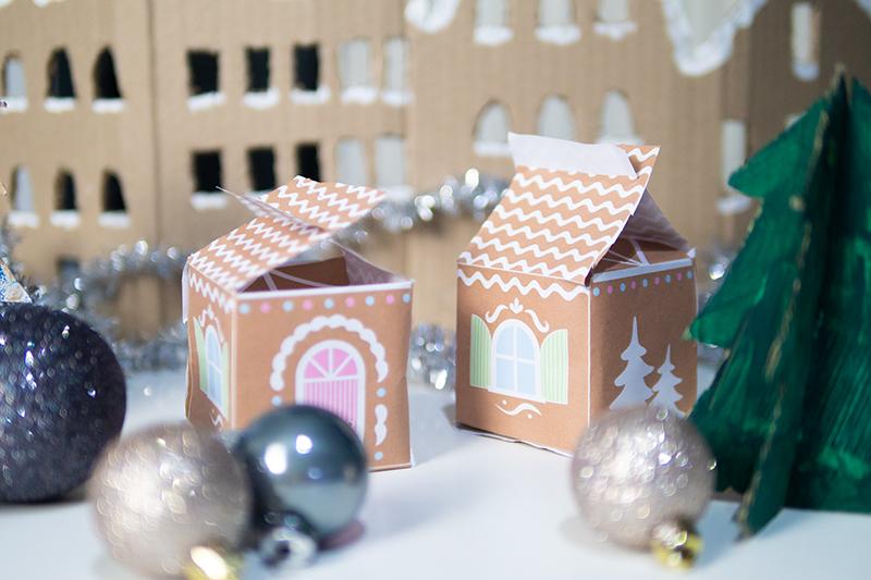 Basteln mit Kindern zu Weihnachten mit Vorlagen