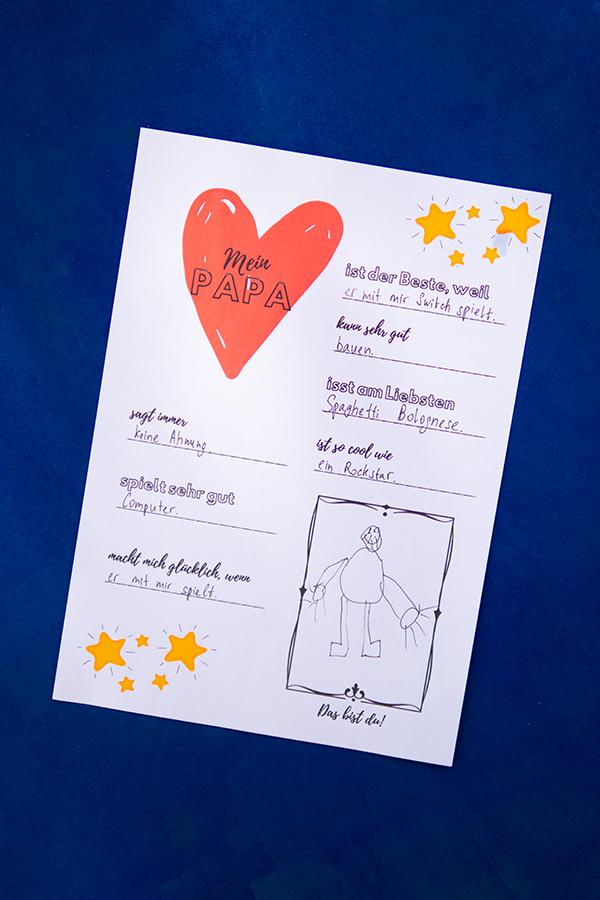 Vatertagsgeschenk basteln: 4 einfache Ideen - Geschenk zum Vatertag basteln mit Kindern