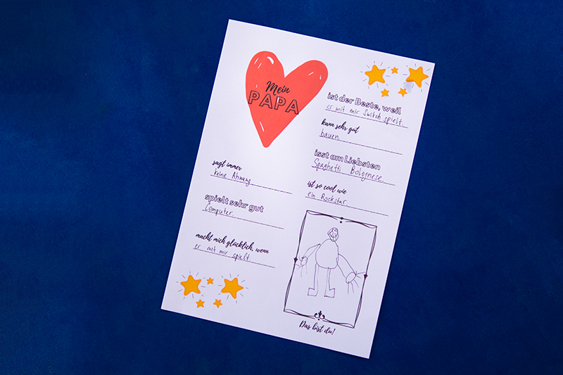 Vatertagsgeschenk basteln: 4 einfache Ideen