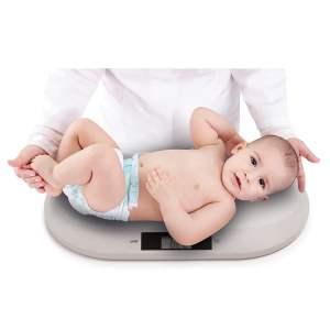 Baby Ono elektroninės svarstyklės kūdikiams, pilka