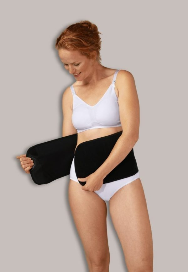 "CARRIWELL pilvo juosta ""BELLY BINDER"", Black"