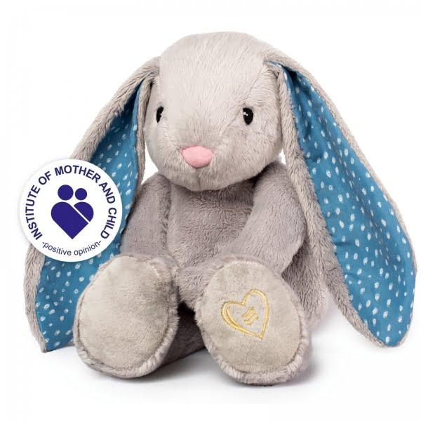 WHISBEAR® migdukas su verksmo jutikliu, Humming Bunny Grey