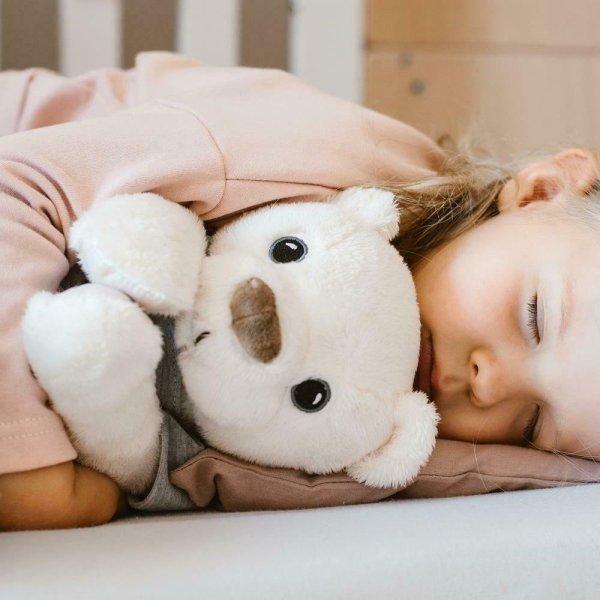 WHISBEAR® migdukas su verksmo jutikliu, Humming Rabbit Bear Girl