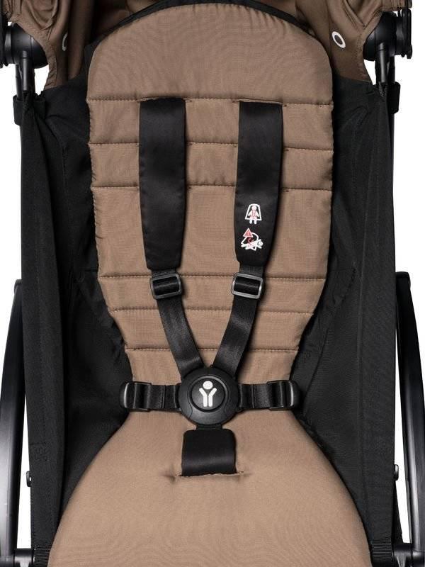 BABYZEN YOYO² 6 Rėmas Black + Color Pack, Toffee