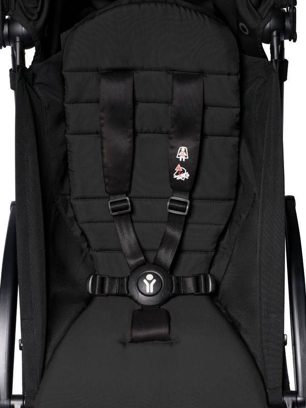 BABYZEN YOYO² 6+ vežimėlis, rėmas Black, Black