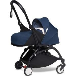 BABYZEN YOYO² vežimėlis 2in1 0+, 6+ rėmas Black, Air France Blue