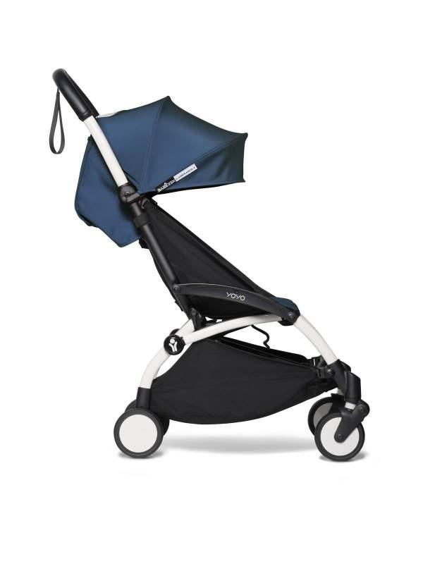 BABYZEN YOYO² vežimėlis 2in1 0+, 6+ rėmas White, Air France Blue
