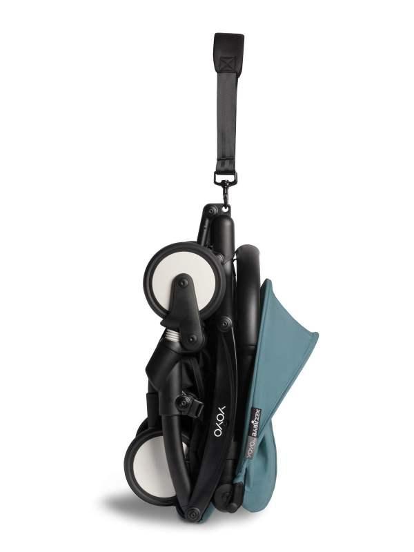 BABYZEN YOYO² 6+ vežimėlis rėmas Black, Aqua
