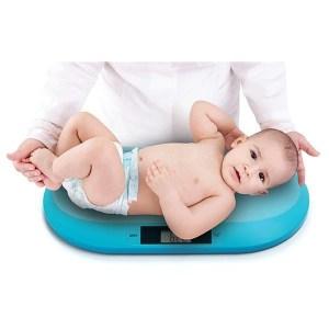 Baby Ono elektroninės svarstyklės kūdikiams, žydra