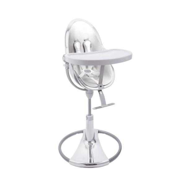 BLOOM Fresco Chrome maitinimo kėdutės rėmas, Silver