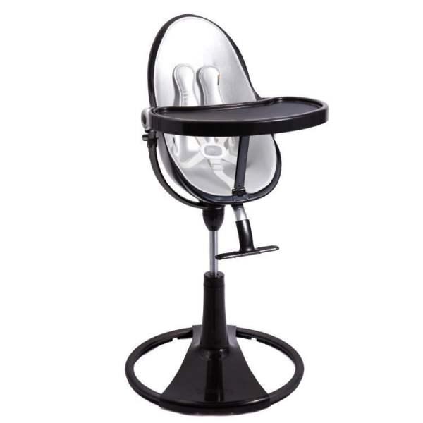 BLOOM Fresco Chrome maitinimo kėdutės įdėklų komplektas, Lunar Silver