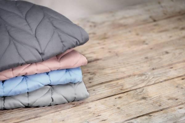 BABYBJÖRN gultukas Bliss Petal Quilt Cotton, Light Grey