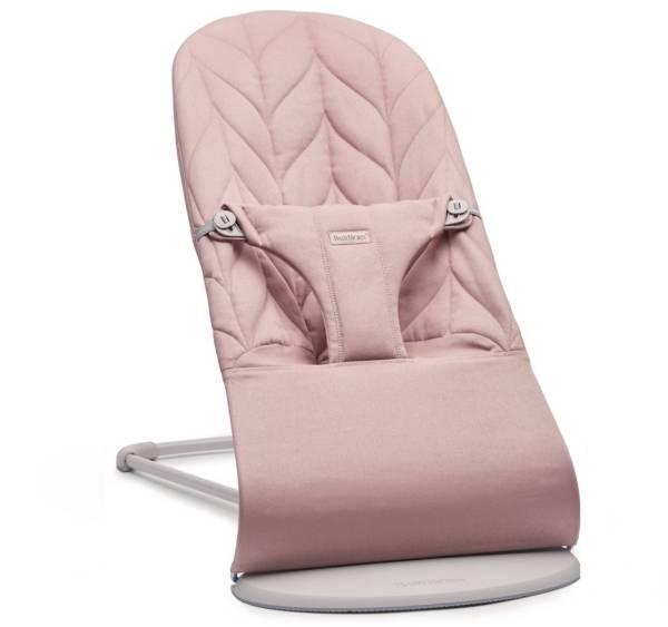 BABYBJÖRN gultukas Bliss Petal Quilt Cotton, Dusty Pink