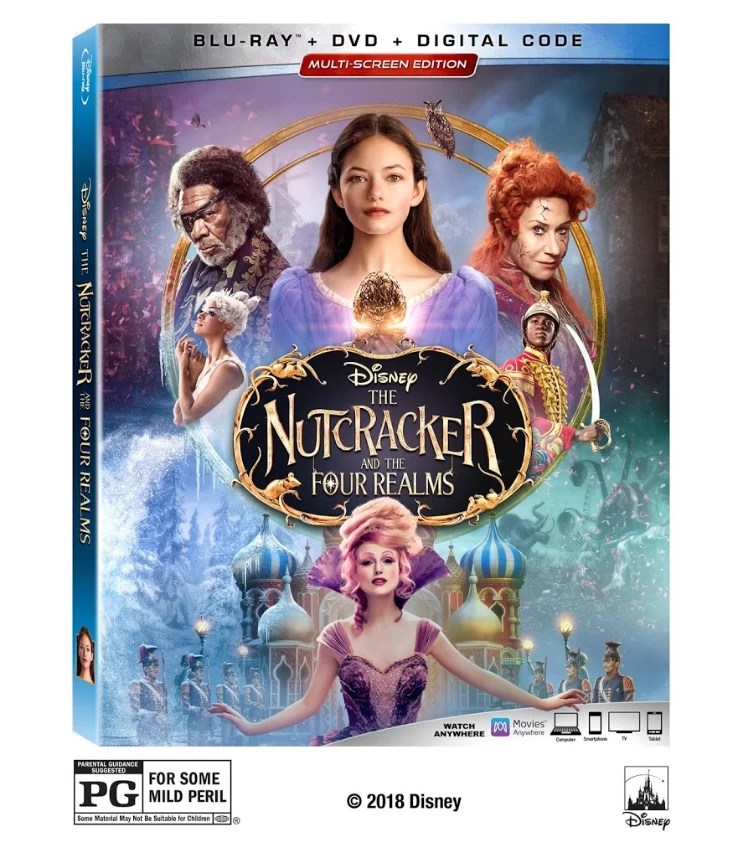 Disney The Nutcracker And The Four Realms Blu-ray Giveaway