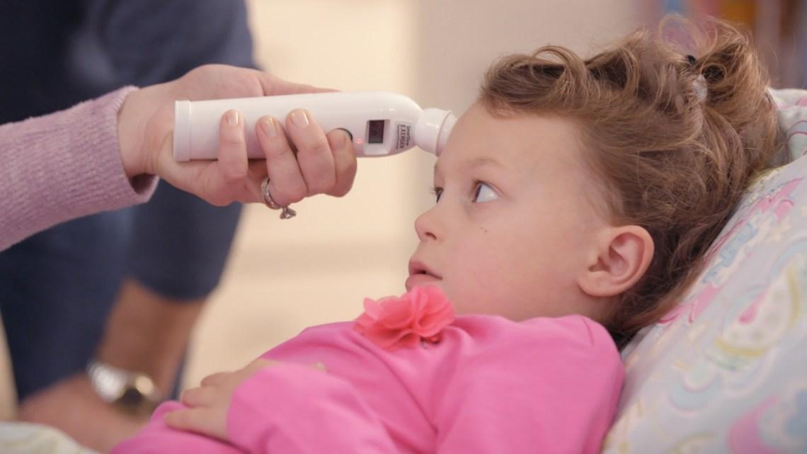 нормална бебешка температура, температура, термометър, температура бебе