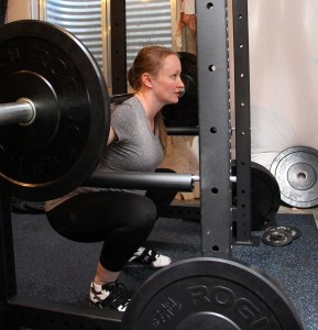 Squatting 115 pounds at 34 weeks pregnant
