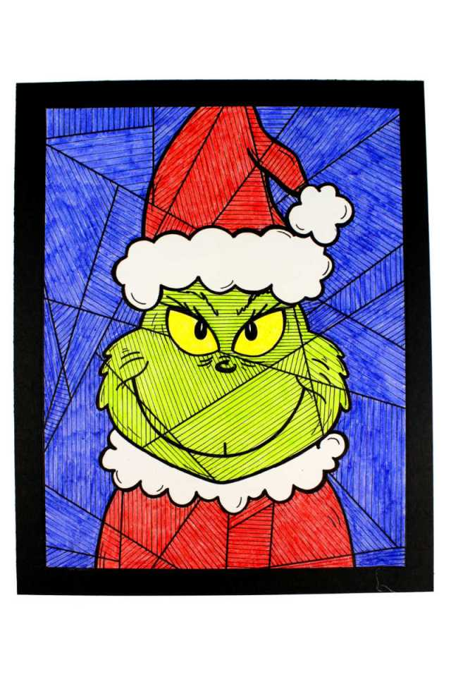 Free Printable The Grinch Coloring Page - Mama Likes This