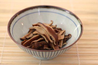 Sweet Simmered Shiitake