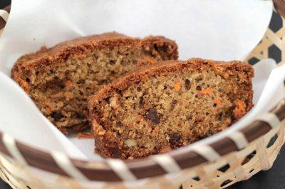 Carrot Raisin Nut Bread